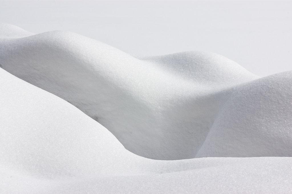 Schnee und Wasser, Spitzingsee V