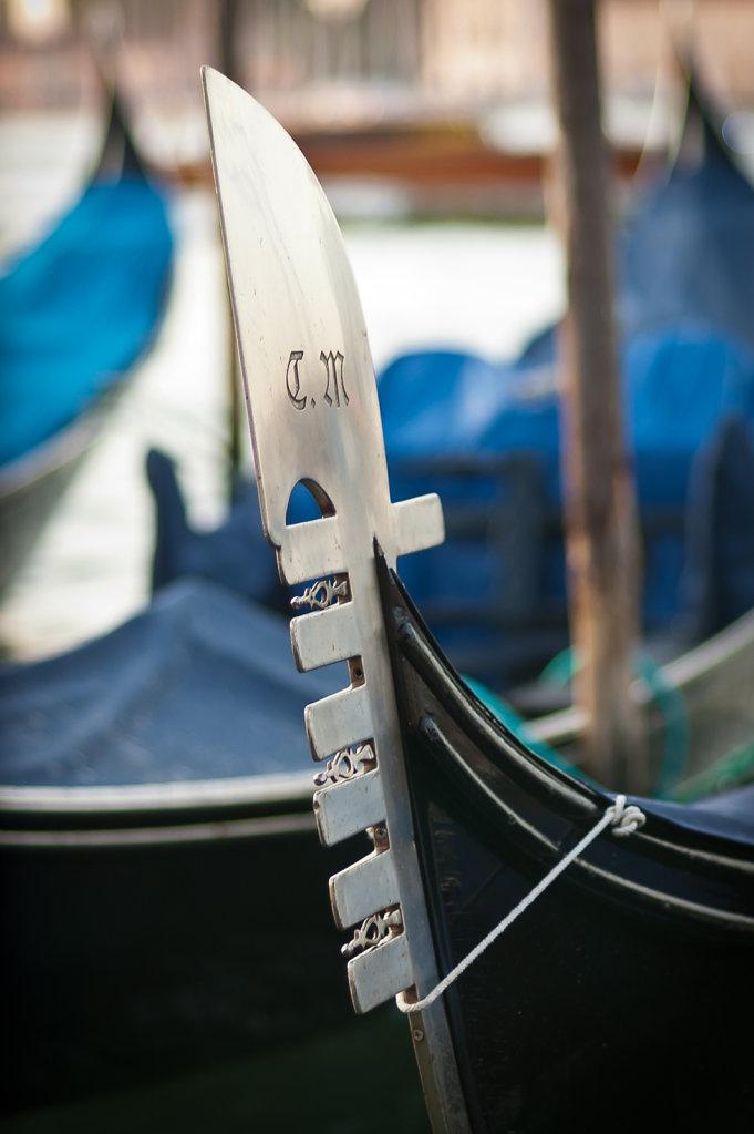 Ferro da gondola, Venedig I