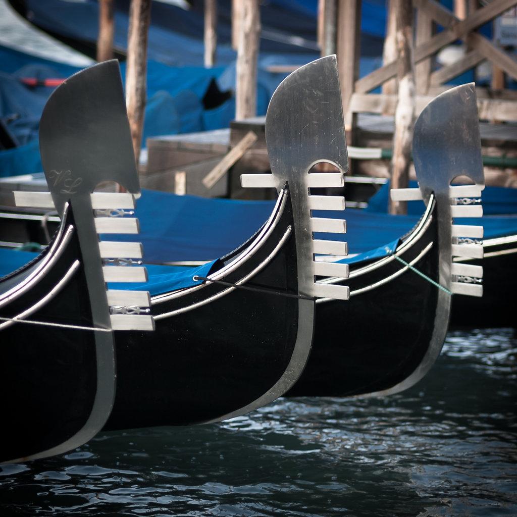 Ferro da gondola, Venedig II