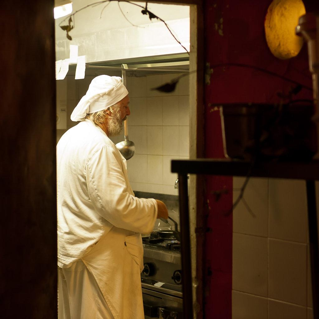 Chef di cucina, Venedig II