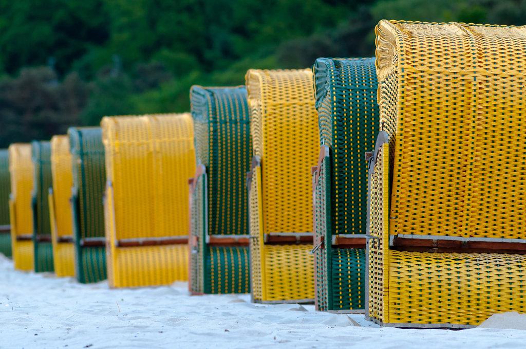 Strandkörbe, Rügen II
